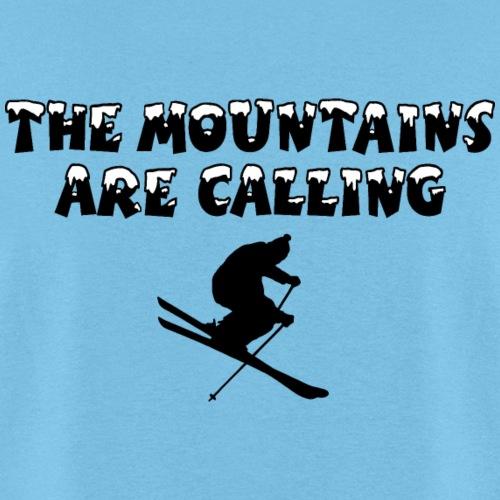 Mountains are Calling Ski Skier Winter Sports