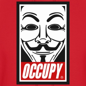Occupy Anonymous Mask Hoodies - Men's Hoodie
