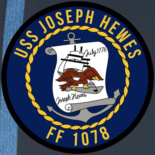 USS JOSEPH HEWES FF-1078 1987 CRUISE HOODIE