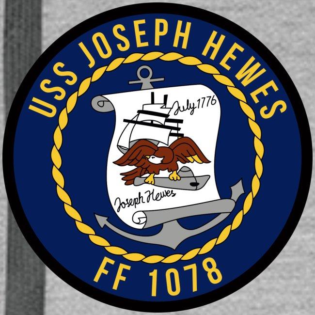 USS JOSEPH HEWES FF-1078 HOODIE