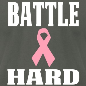Battle Hard T-Shirts - Men's T-Shirt by American Apparel