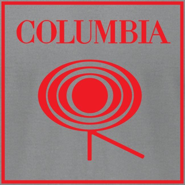 Columbia (red logo) White Tee (AA)