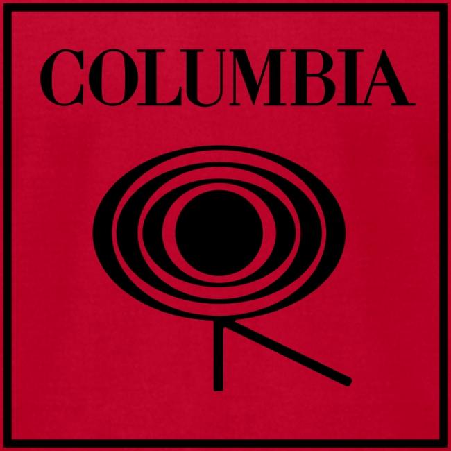 Columbia (black logo) Red Tee (AA)