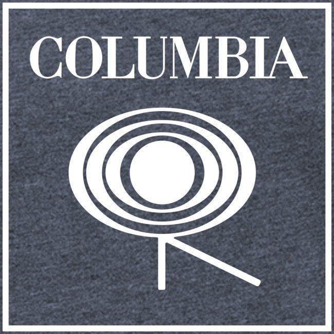 Columbia (white logo) Red Tee (NL)