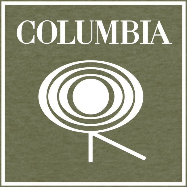 Columbia (white logo) Red Tee (NL)