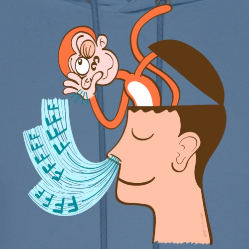 Monkey mind hearing meditator's breath