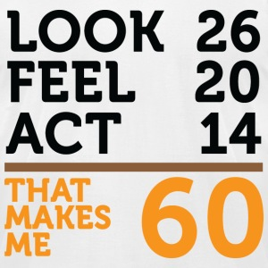 Look Feel Act 60 (dd)++2012 T-Shirts - Men's T-Shirt by American Apparel