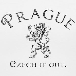 Prague - Czech it out. - Women's V-Neck T-Shirt