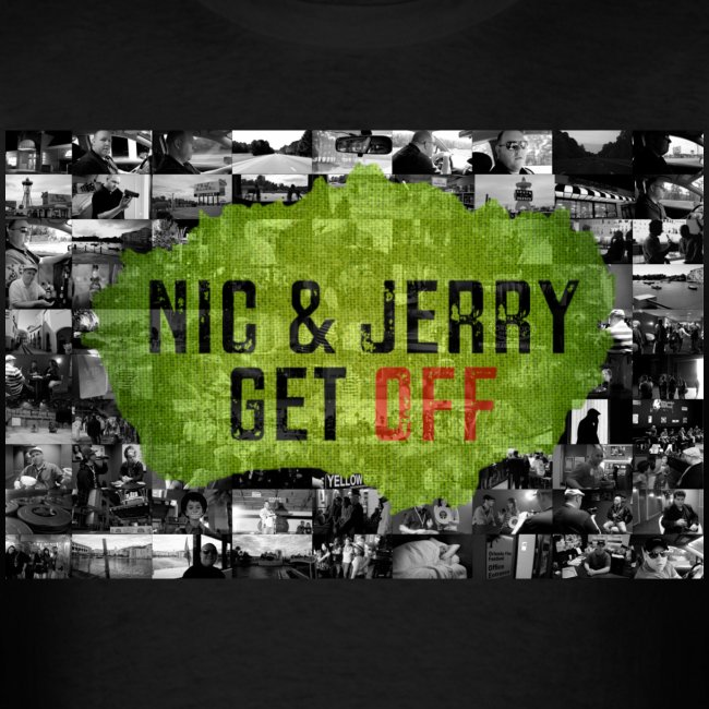 NJ Get OFF Postcard Design