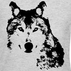 Wolf Long Sleeve Shirts - Women's Long Sleeve Jersey T-Shirt