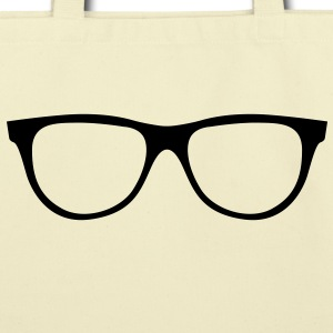 Nerd Gangnam Glasses Bags  - Eco-Friendly Cotton Tote