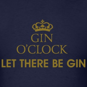 Gin O'Clock Let There Be Gin Men's T-Shirt - Men's T-Shirt