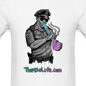 COP SMOKING T-Shirt Men - Men's T-Shirt