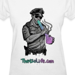 """COP SMOKING"" T-Shirt Women - Women's T-Shirt"