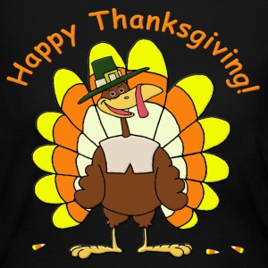 Happy Thanksgiving Long Sleeve Shirts - Women's Long Sleeve Jersey T-Shirt