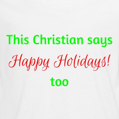 This Christian says (1)