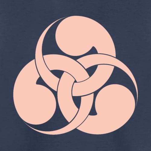 Tadpole Mon Japanese samurai clan in pink