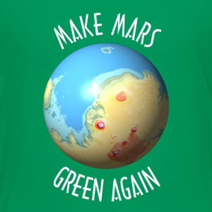 Make Mars green again
