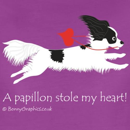 Papillon thief blackwhite