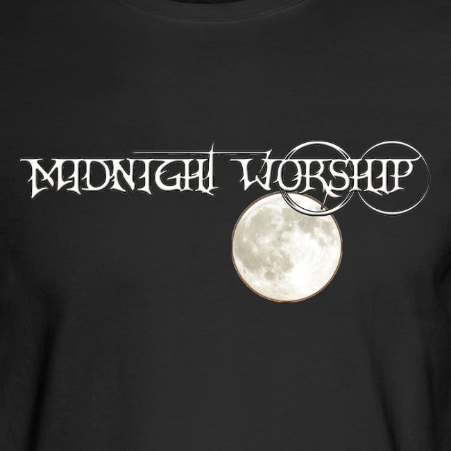 MIDNIGHT WORSHIP: At Night You Give Me a Song (Long Sleeve)   Men's Long  Sleeve T-Shirt