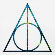 Design ~ COSMIC DEATHLY HALLOWS - LADIES TSHIRT