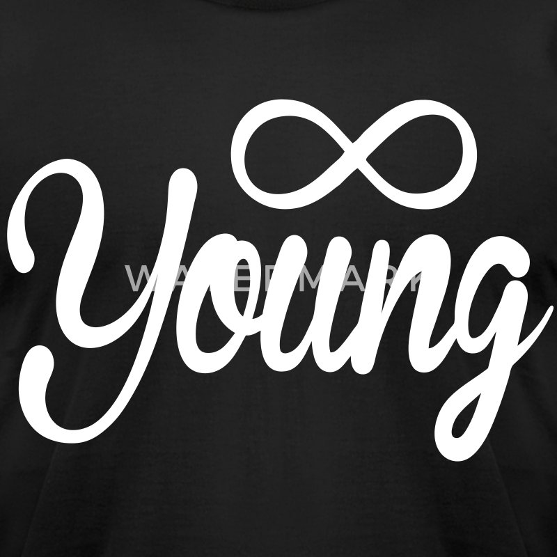Forever Young T-Shirts - stayflyclothing.com - Men's T-Shirt by American Apparel
