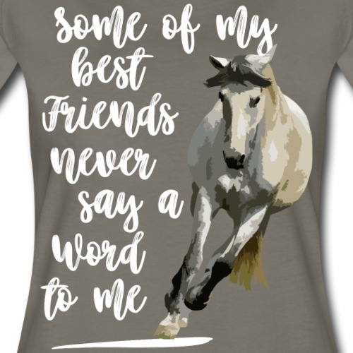Some of my best friends never ..