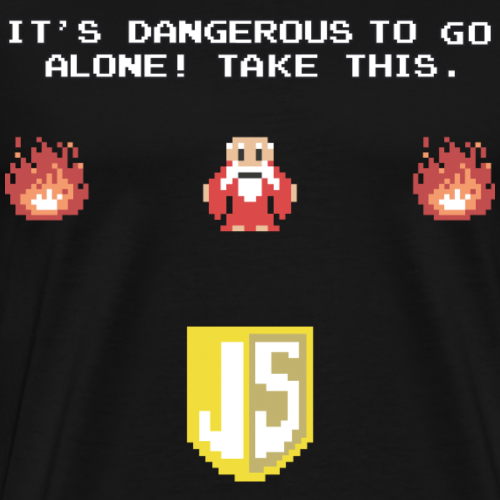 Zelda Old Man JavaScript