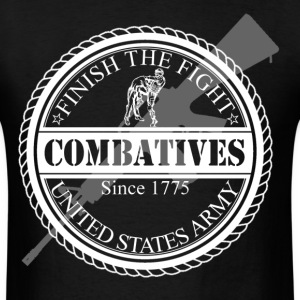 Finish The Fight Army Combatives Design T-Shirts - Men's T-Shirt