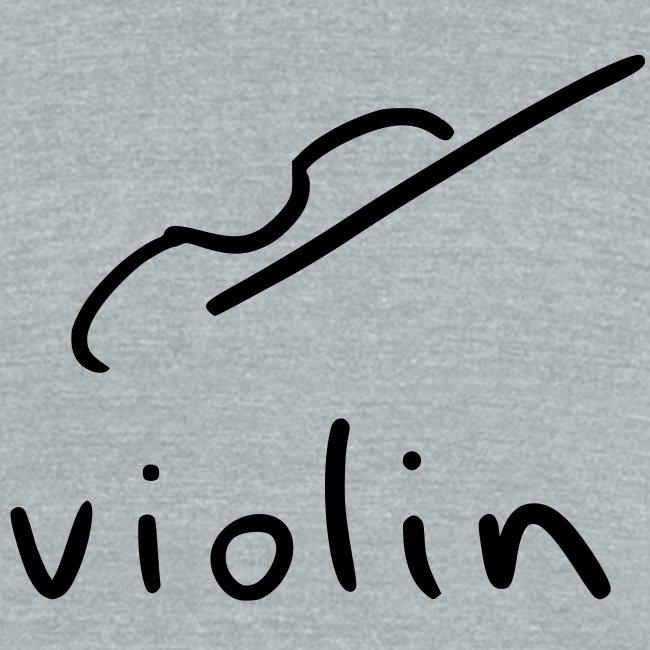 violin (grey tri-blend)