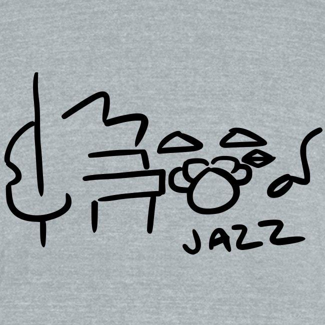 jazz (grey tri-blend)
