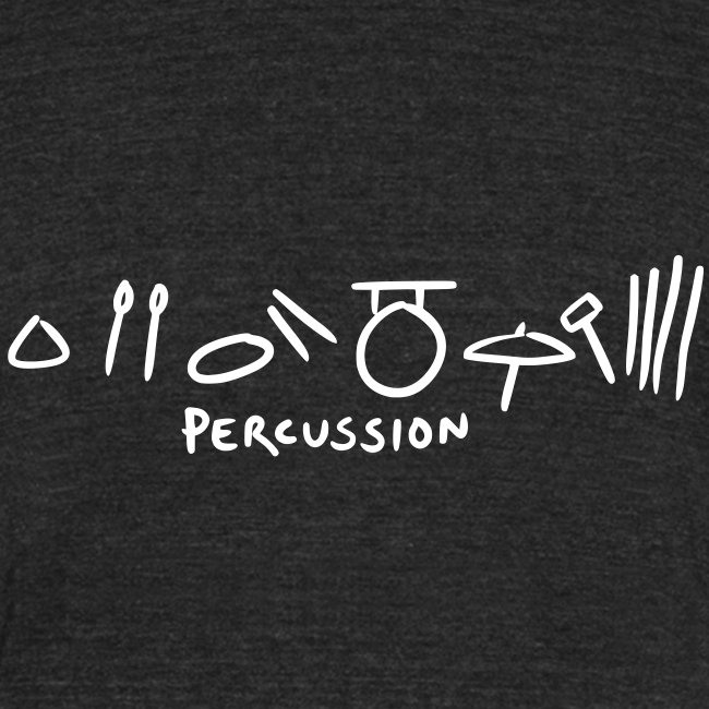 percussion (black tri-blend)
