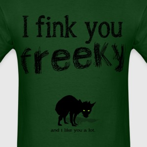 freeky shirt - Men's T-Shirt