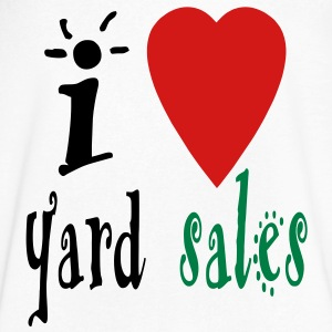 i_heart_yard_sales3 T-Shirts - Men's V-Neck T-Shirt by Canvas