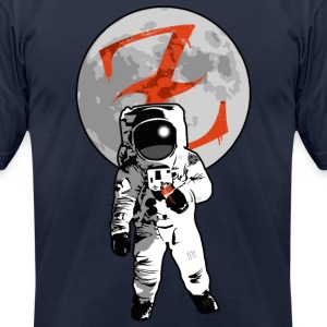 Graffiti Spaceman by CTRL+Z Clothing T-Shirts - Men's T-Shirt by American Apparel