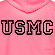 Design ~ USMC Zip Up Hoodie