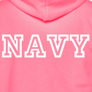 Design ~ NAVY Zip Up Hoodie