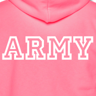 Design ~ ARMY Zip Up Hoodie