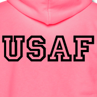 Design ~ USAF Zip Up Hoodie