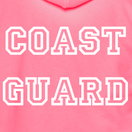 Design ~ Coast Guard Zip Up Hoodie