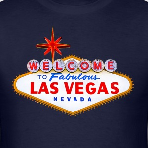 Welcome To Las Vegas - Men's T-Shirt