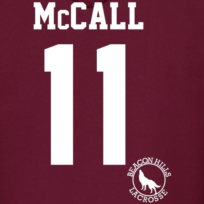 """McCALL 11"" - Hoodie (XL Logo +S)"