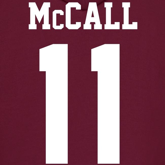 """McCALL 11"" - Hoodie (XL Logo, NBL)"