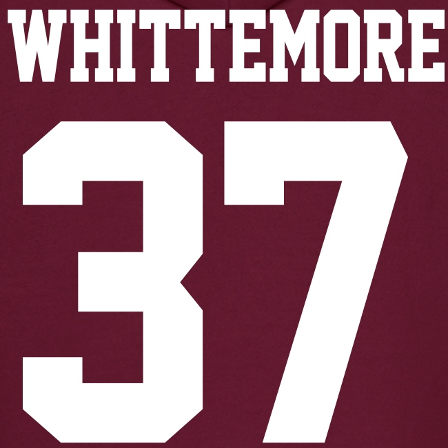 """WHITTEMORE 37"" - Hoodie (S Logo, NBL)"