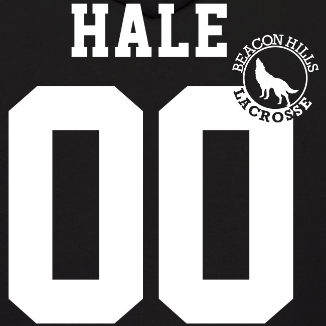 """HALE 00"" - Hoodie (XL Logo +S)"