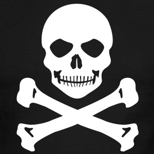 Pirate skull T-Shirts - Men's Ringer T-Shirt