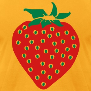 Strawberry T-Shirts - Men's T-Shirt by American Apparel