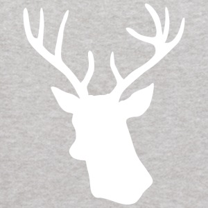White Stag Deer Head Sweatshirts - Kids' Hoodie