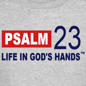 PSALM 23 LIFE IN GOD'S HANDS Long Sleeve Shirts - Crewneck Sweatshirt