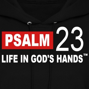 PSALM 23 LIFE IN GOD'S HANDS Hoodies - Women's Hoodie